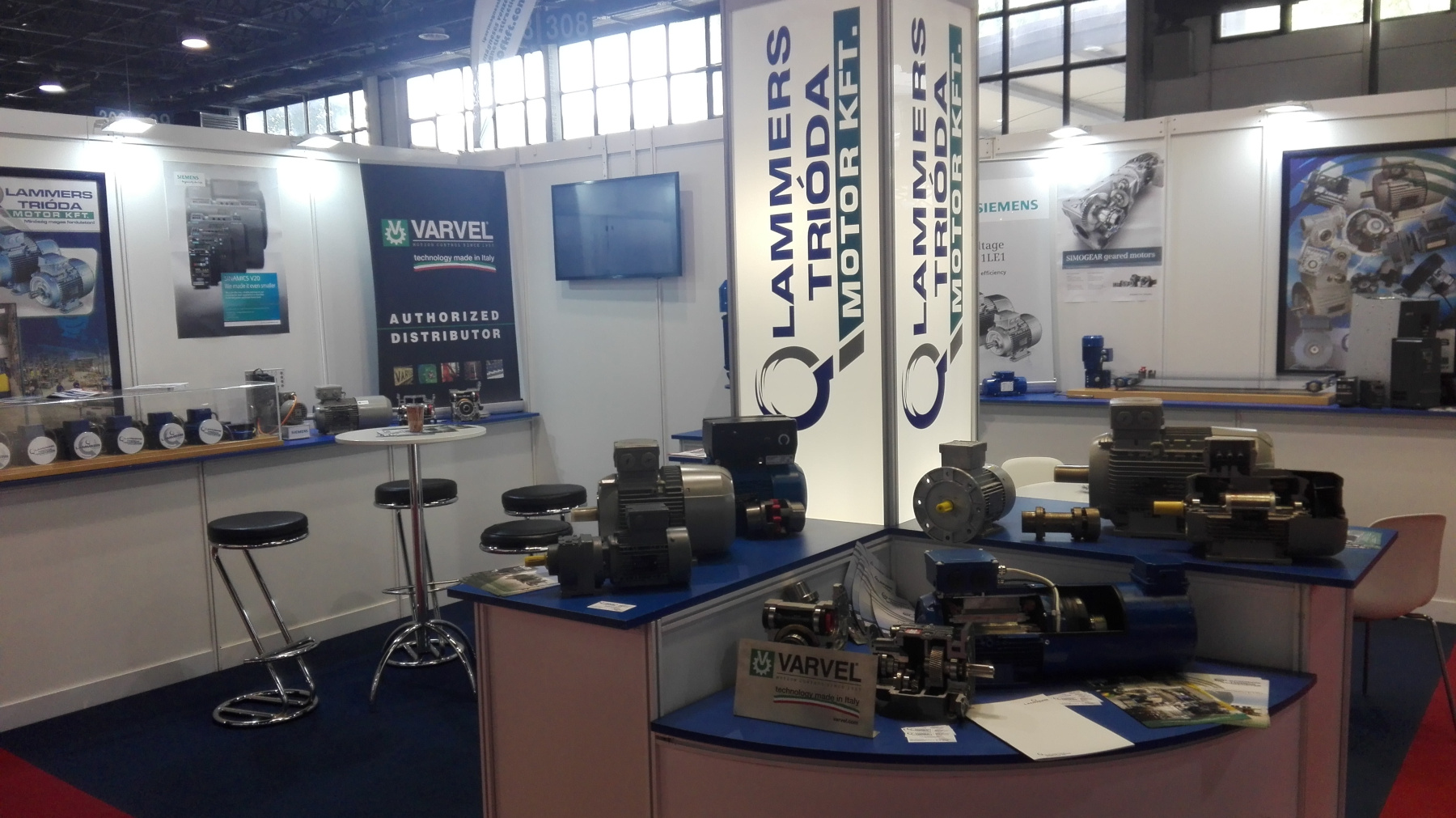 Lammers Trióda Motor Kft. - Stand